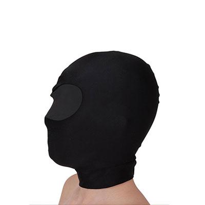 掩面迷情包頭套(眼部雙層構造)