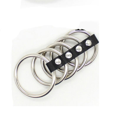 五環式皮扣型金屬老二環