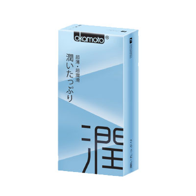 岡本okamoto-Ultra Smooth極潤型保險套(10入)