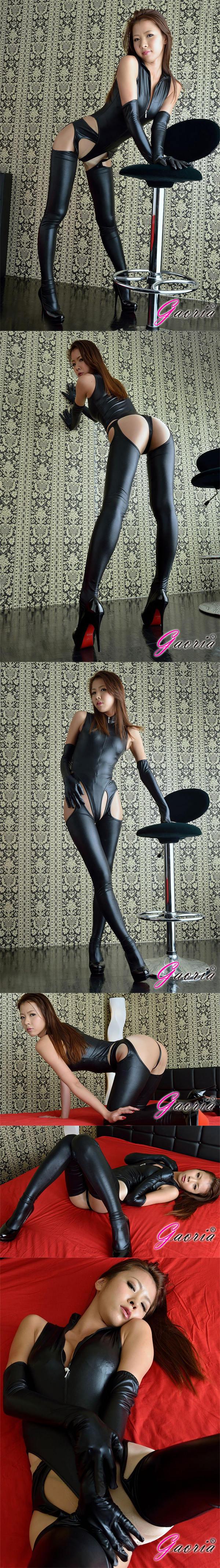 【Gaoria】黑魔蛟龍 漆皮膠衣 連體角色服