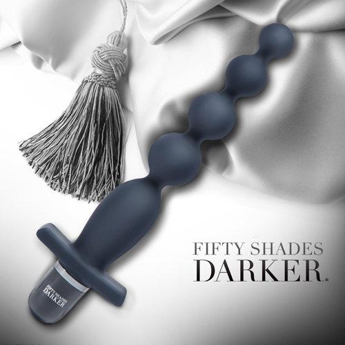 Fifty Shades Darker 格雷的五十道陰影2-束縛 串珠造型後庭震動器