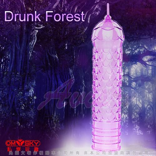 omysky 魅動三重奏 超薄款 迷醉森林 水晶凸狀加長套