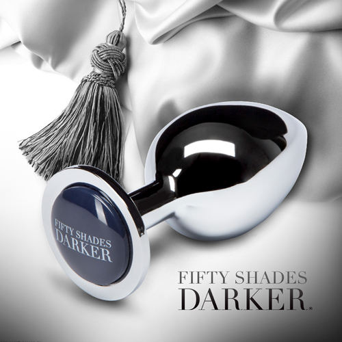 Fifty Shades Darker 格雷的五十道陰影2-束縛 圓錐造型金屬後庭肛塞