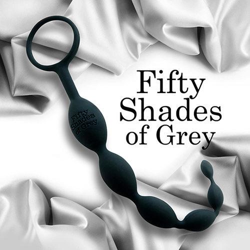Fifty Shades Of Grey 格雷的五十道陰影 歡愉矽膠六連拉珠 肛塞