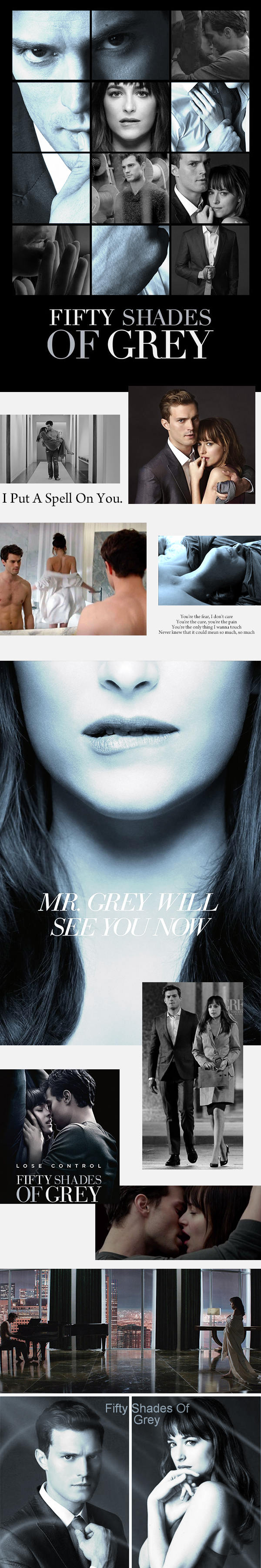 Fifty Shades Of Grey 格雷的五十道陰影 克里斯欽 格雷的領帶