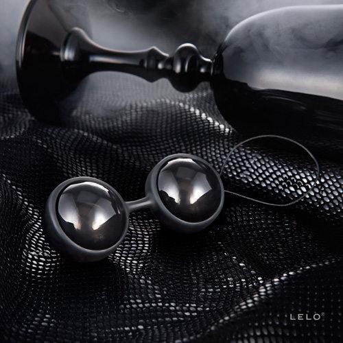 瑞典LELO-Luna Beads NOIR 露娜-黑珍珠 陰道/後庭兩用球靈感來自-格雷的五十道陰影