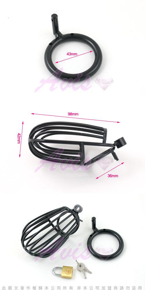 虐戀精品CICILY-急速囚禁 鳥籠男用貞操裝置