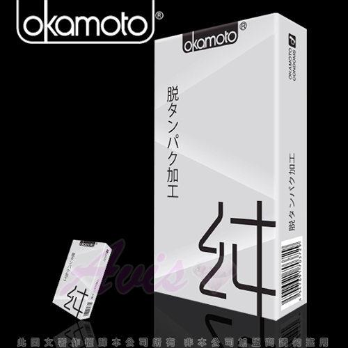 Okamoto岡本-City-Natural 清純型 保險套(10入裝)