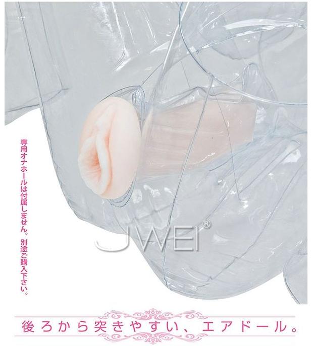 NPG‧Onlyyu Air Doll 等身大3D透明充氣娃娃-葛城