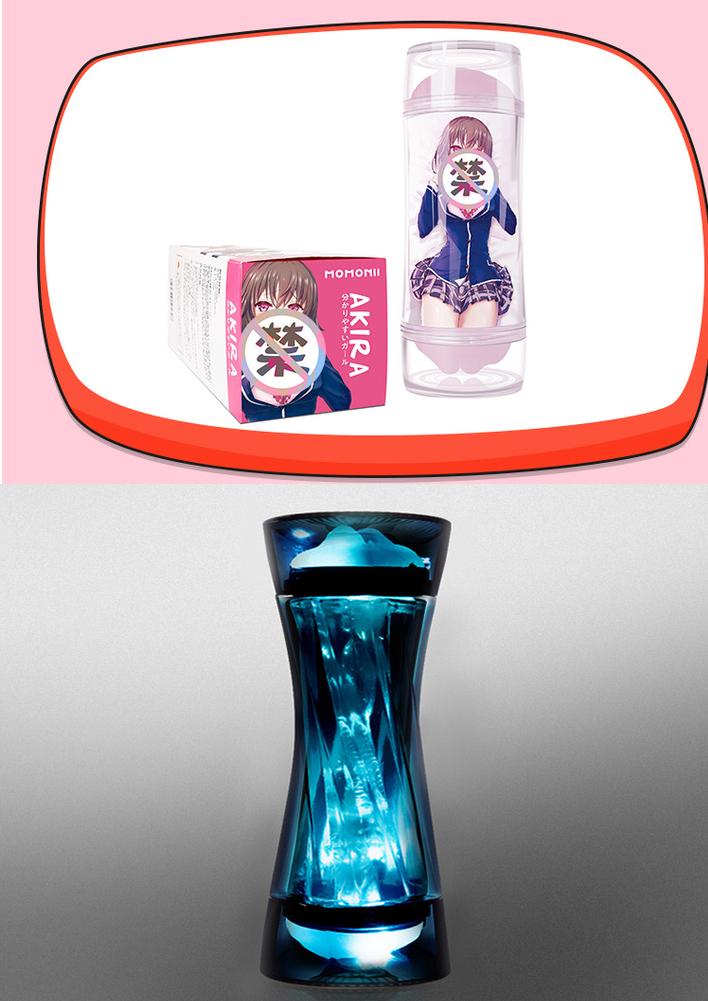 [優惠套裝]SVAKOM 動漫飛機杯+螺紋飛機杯