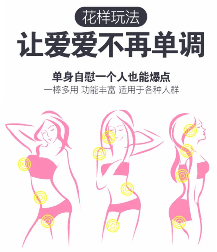 振動棒女用自慰器小號私處高潮刺激乳房按摩av棒夫妻房事成人情趣用品防水靜音另類玩具 粉色﹣泉